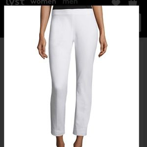 Elie Tahari white Juliette trouser size US8, UK12